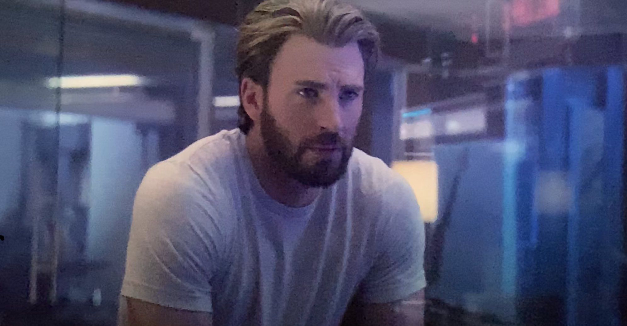 cap in captain marvel's post-credit scene for