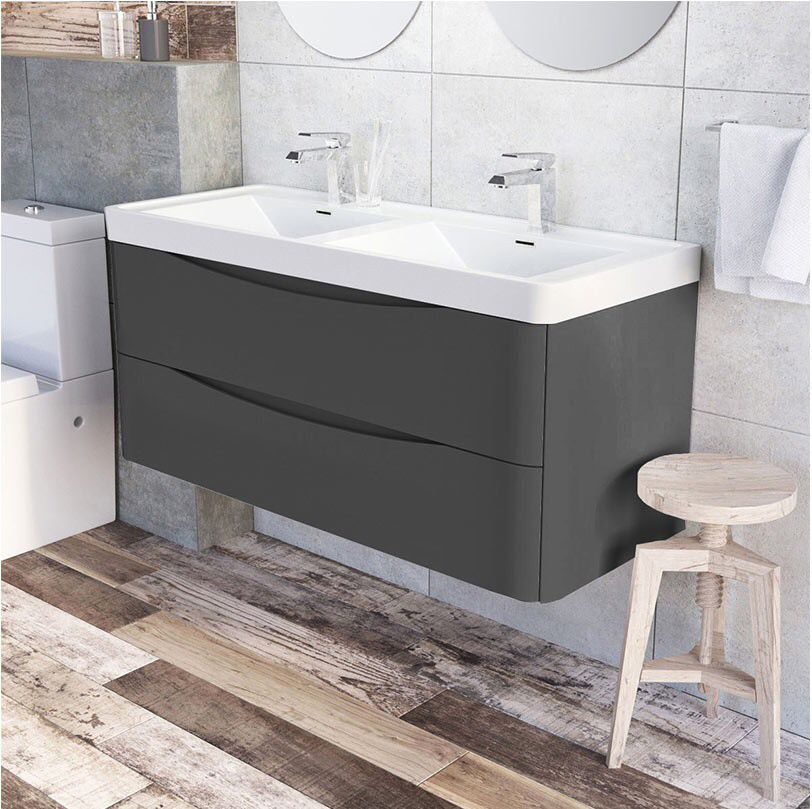 Pin By Jessica Thomas On Home Double Basin Vanity Unit Basin Vanity Unit Luxury Bathroom Vanities