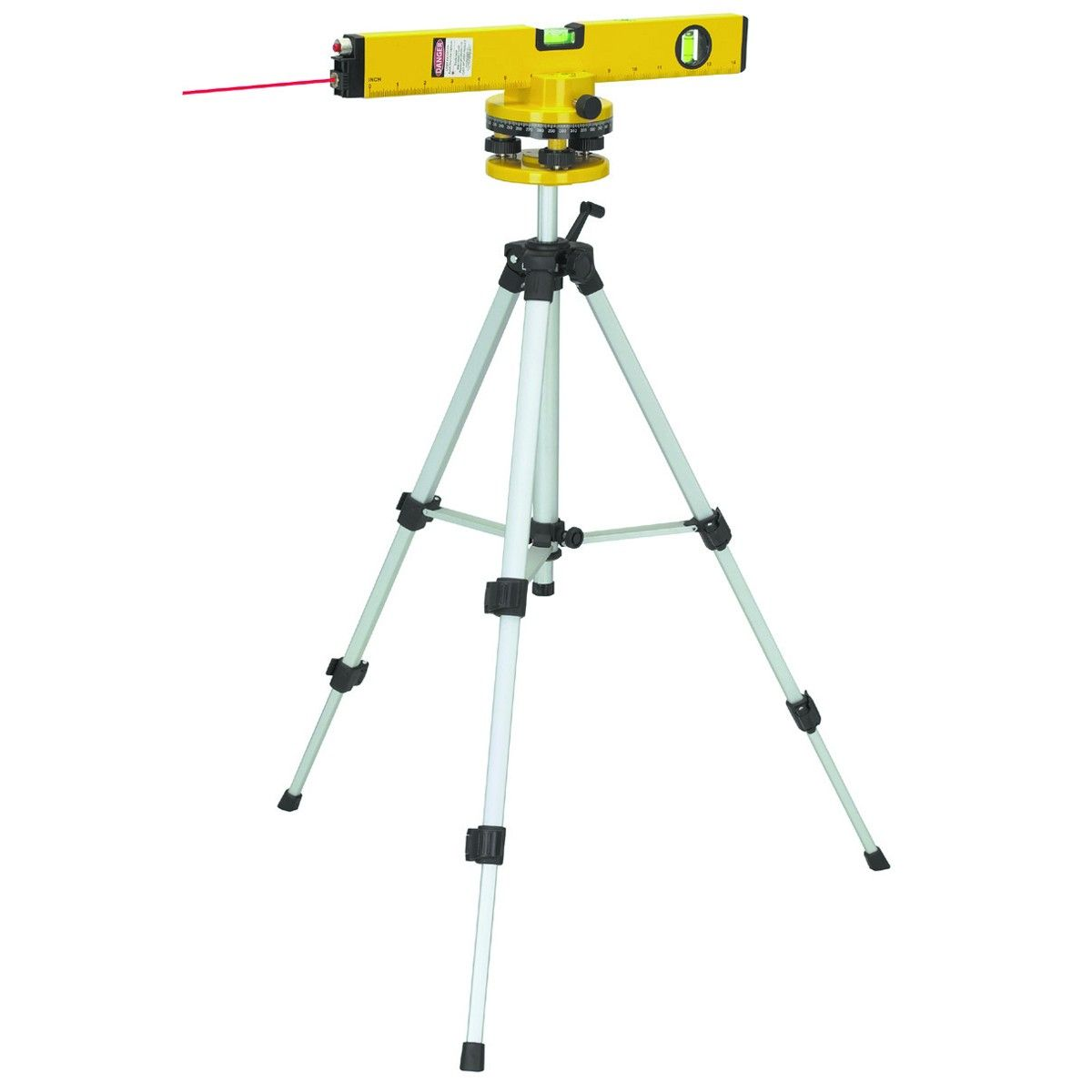 how to use a laser level for concrete
