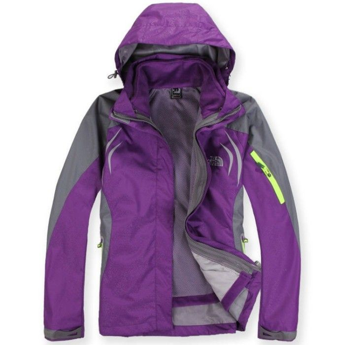 $82 THE NORTH FACE WOMENS TJ083-PURPLE
