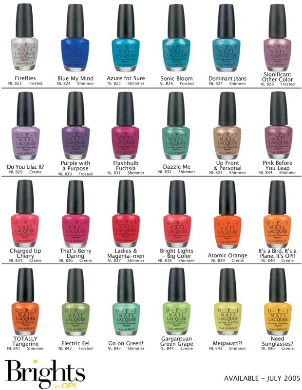 Not A Fan Of Significant Other Or Pink Before You Leap But Like The Others Opi Nail Colors Toe Nail Color Sassy Nails