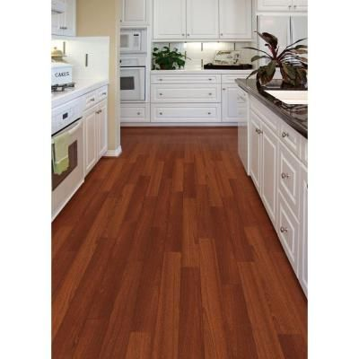 Home Legend Matte Bailey Mahogany 3 8 In Thick X 5 In Wide X 47 1 4 In Length Click Lock Hardwood Flooring 19 686 S Wood Floor Kitchen Home Hardwood Floors