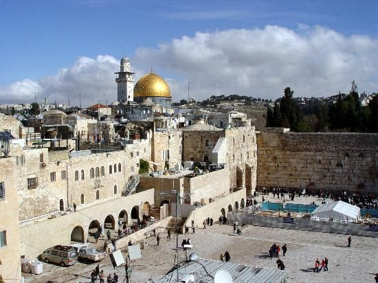 The Old City, the Wailing Wall, the Church of the Holy Sepulcher ...