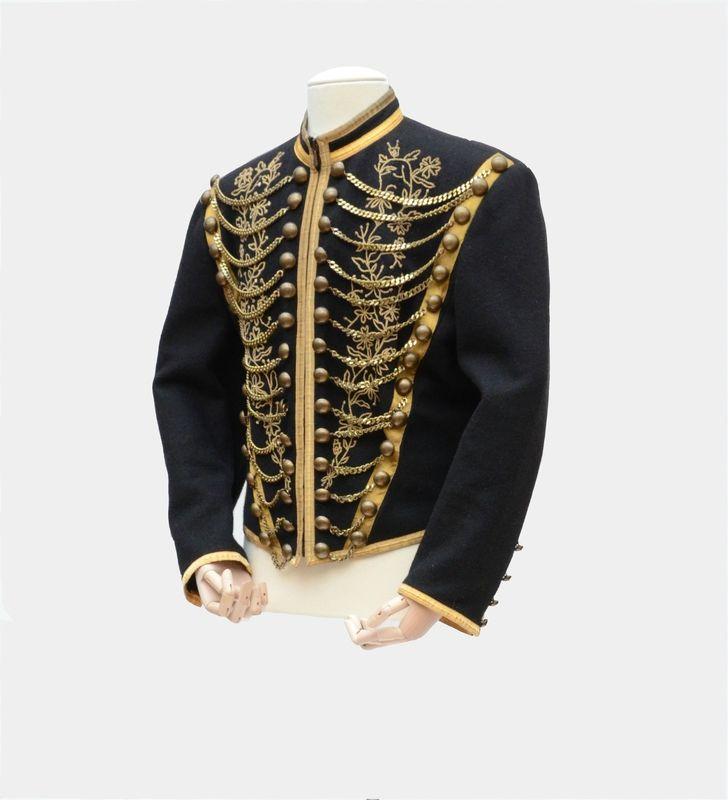 jean paul gaultier homme veste d 39 inspiration militaire pi ce de d fil collection jean paul. Black Bedroom Furniture Sets. Home Design Ideas