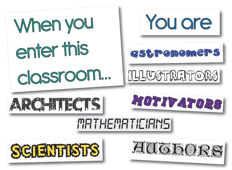 image regarding Free Printable Classroom Signs and Labels titled The moment By yourself Input This Clroom - Free of charge Printable Indications