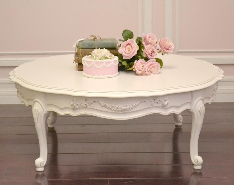 Antique White Coffee Table White Round Coffee Table Antique