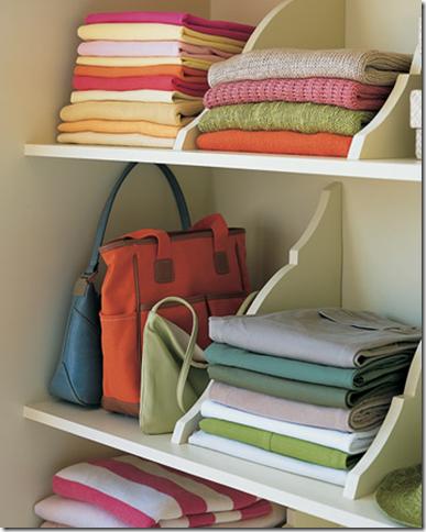 Closet ideas by Martha Stewart #inspiration, #organization, #projects