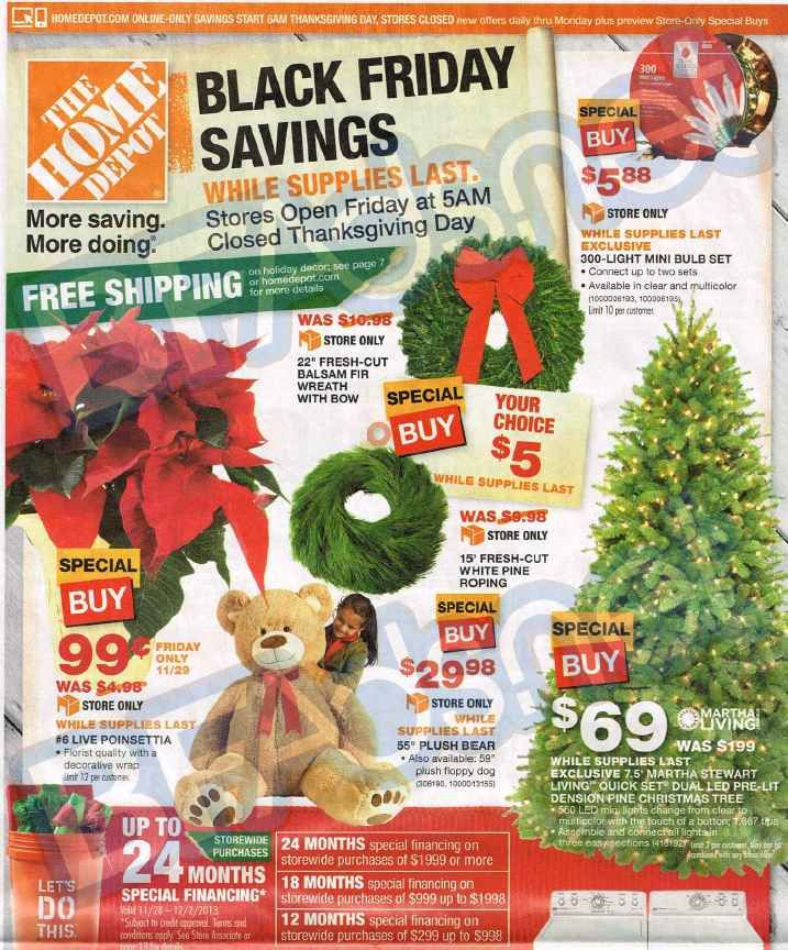 Planning To Visit Home Depot On Black Friday Check Out The