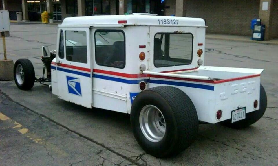 Mail Truck Rat Rods Truck Rat Rod Mail Truck