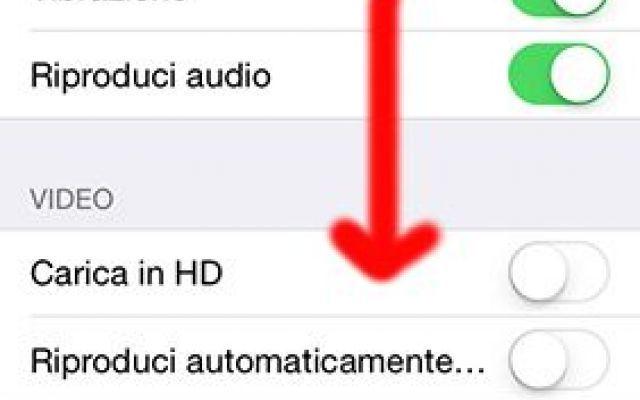Guida Facebook: Disattivare il play automatico dei video