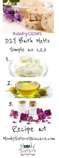 Moody Sister's Favorite Butters & Oils + DIY Bath Melt Recipe