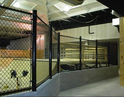 Indoor Chain Link Fence Fences Gates Screens