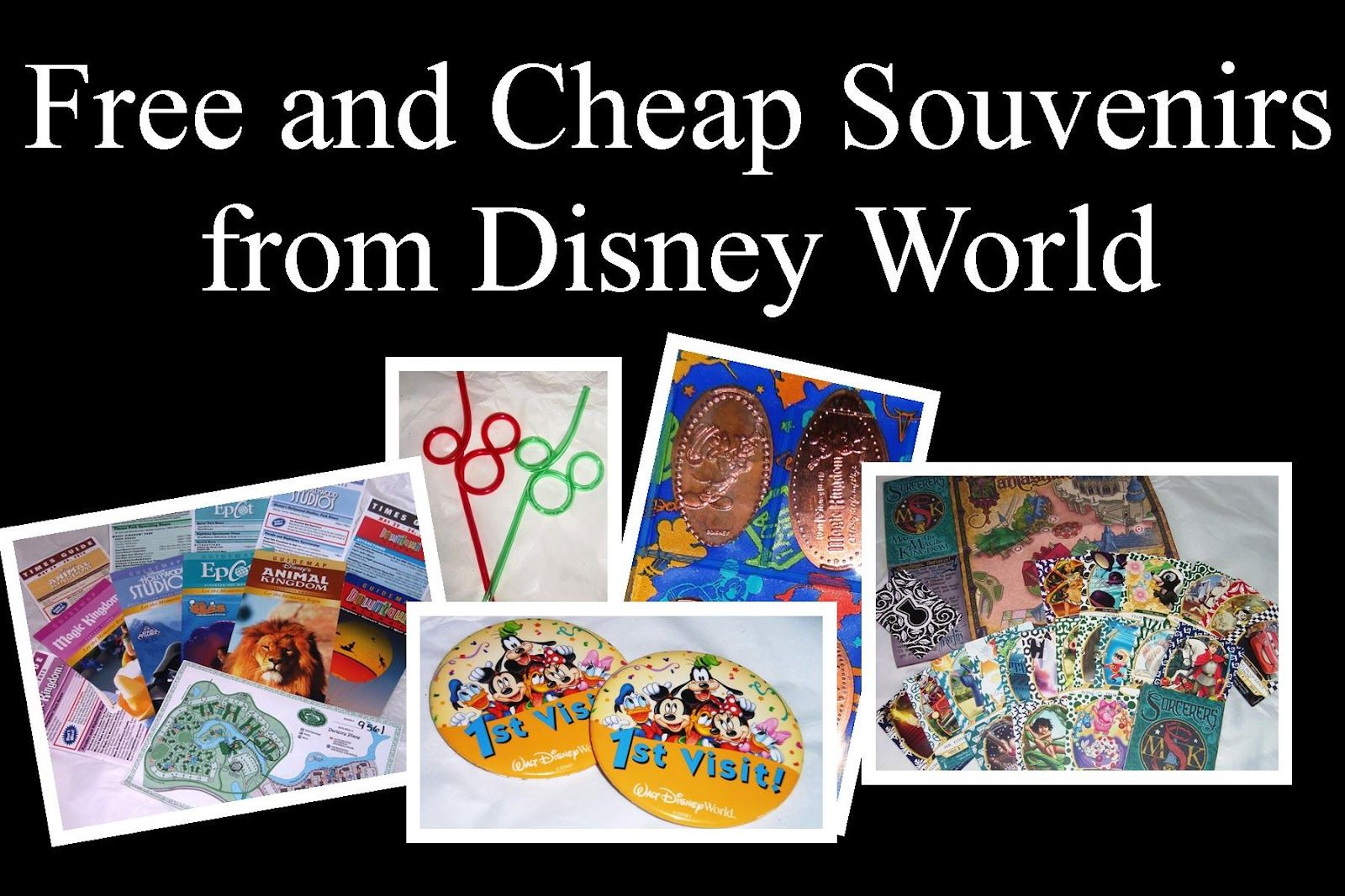 Cheap & Free Disney World Souvenirs