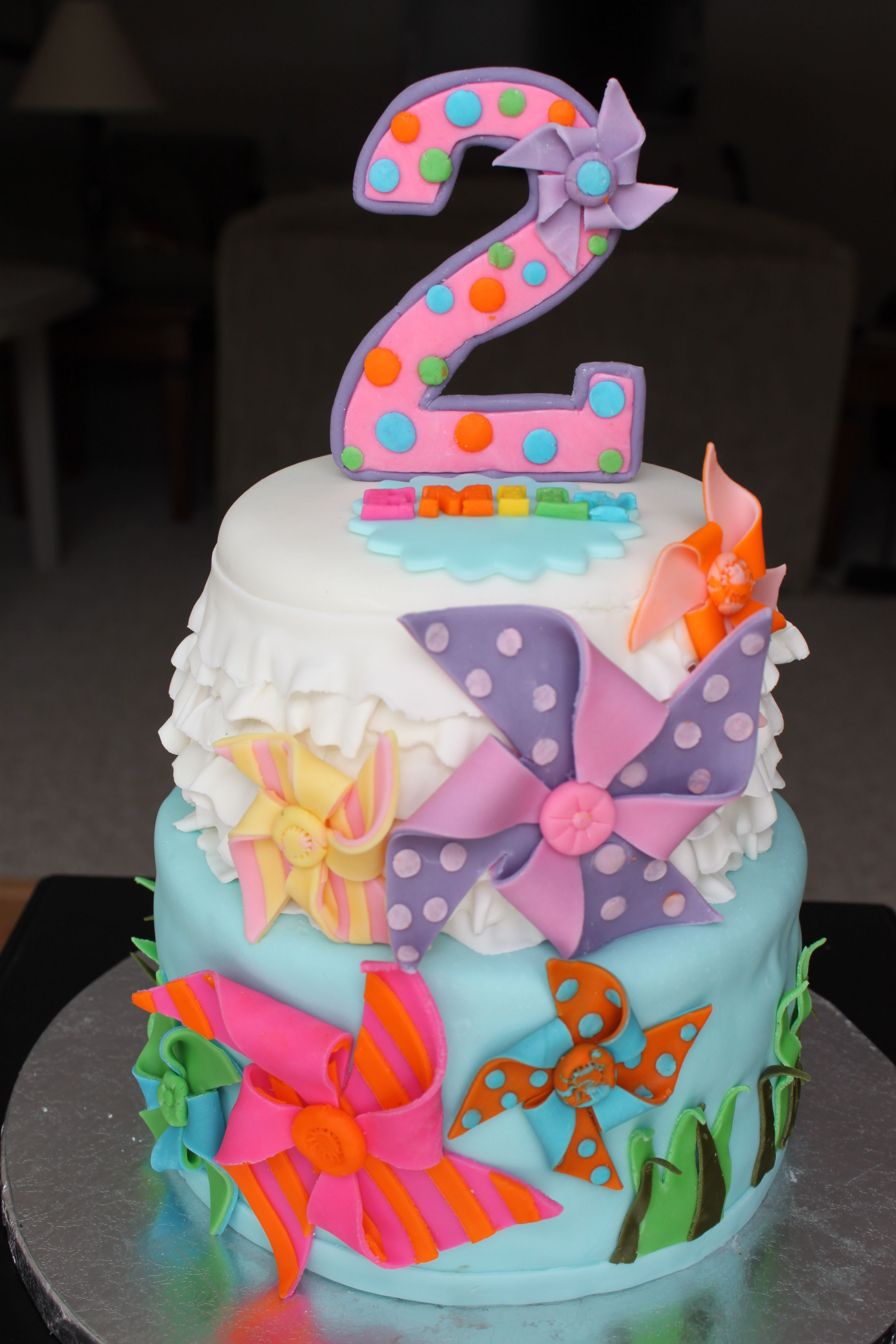 2 Year Old Birthday Cake : birthday, Children's, Birthday, Cakes, Cake,, Photo,