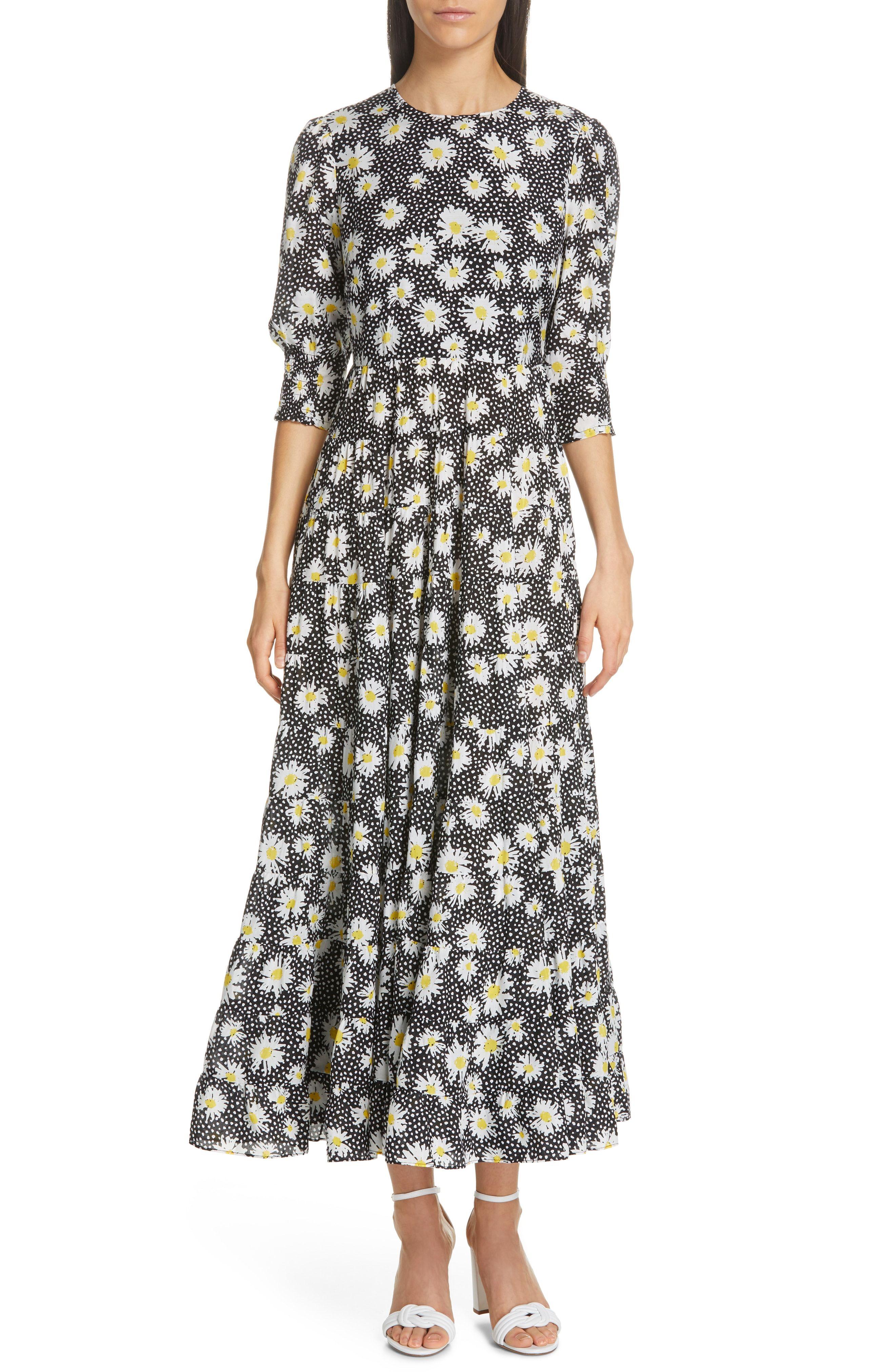 1d6ce92f7bd5 RIXO Kristen Floral Print Midi Dress available at  Nordstrom ...