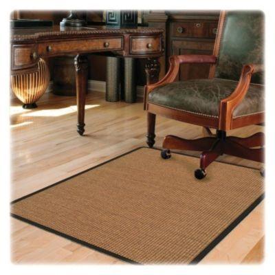 Deflecto Hard Floor Straight Edge Chair Mat 0 1 H X 45 W X 53