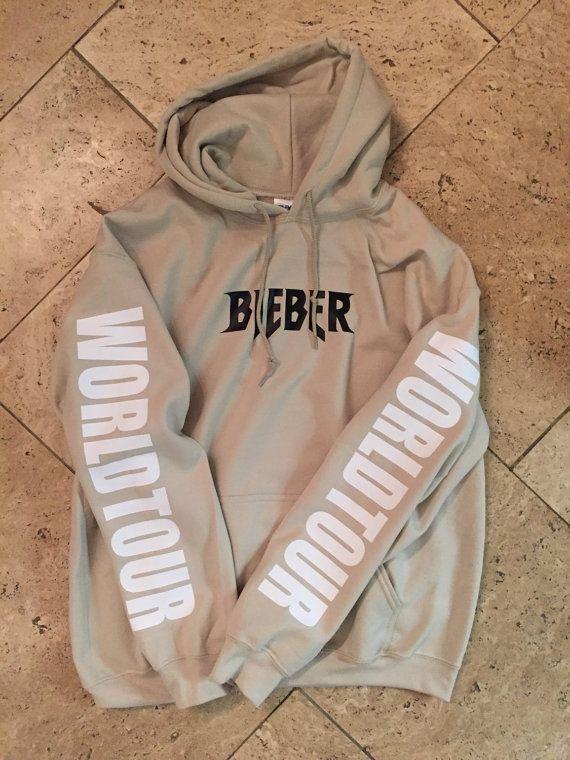 d92d44c5 Justin Bieber but TOUR exclusif Sweat à par SStreetwearSociety ...