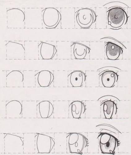Pin Oleh Ana Cipru T Di Sketsa Di 2020 Gambar Mata Gambar Mata Anime Cara Menggambar