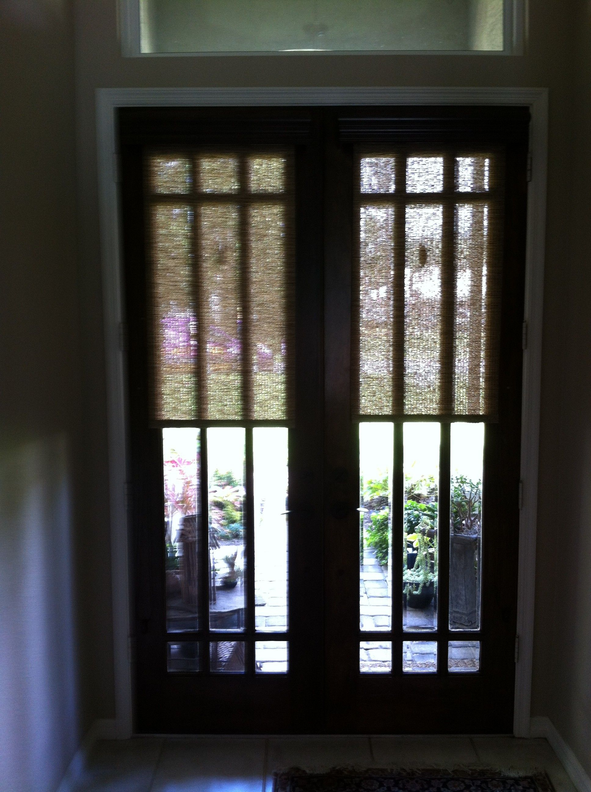 Door Open From Inside | Roller Shades For Front Door Privacy   Made In The  Shade