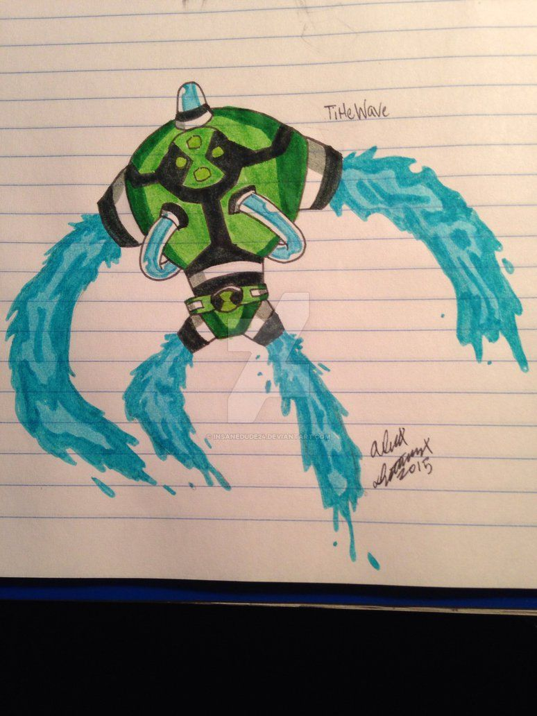 Ben 10 fan alien 3 by insanedude24 on DeviantArt | Ben 10 | Ben 10