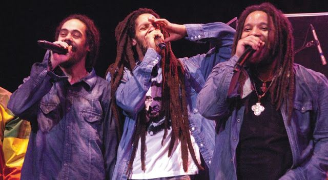 Damian, Julian and Stephen Marley | Source | Dread hairstyles for men, Mens hairstyles, Dread ...