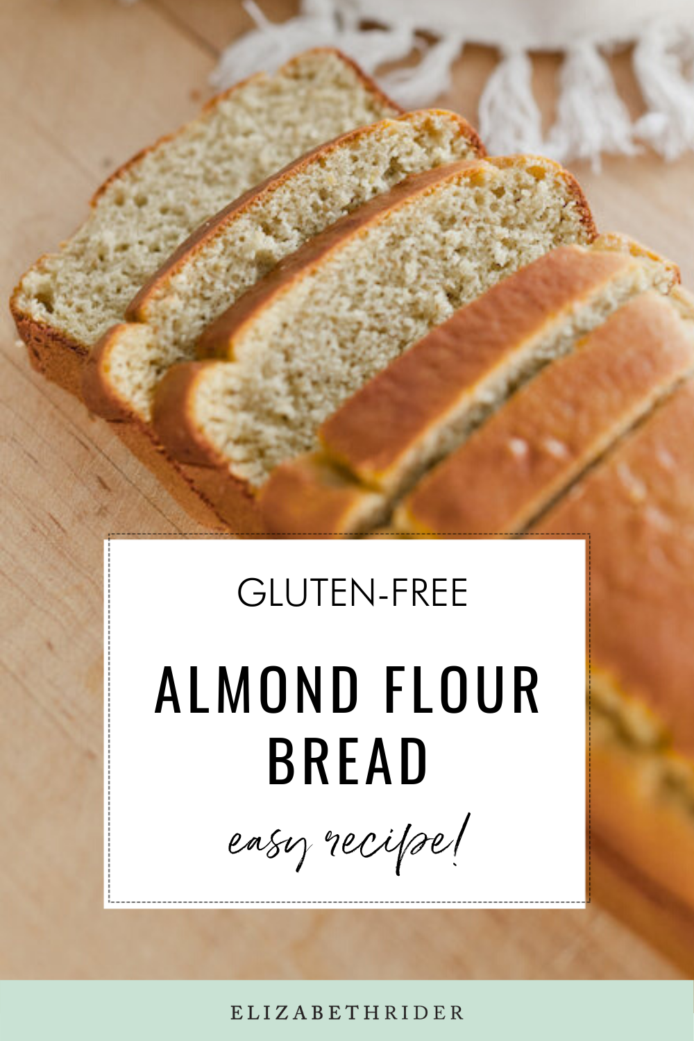 Healthy Almond Flour Bread Recipe Gluten Free Recipe In 2020 Almond Flour Bread Recipes Almond Flour Bread Recipes