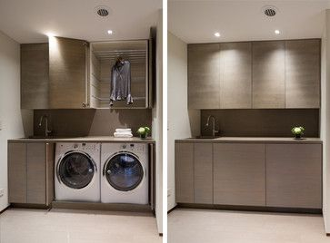 Contemporary Laundry Room Design Ideas Pictures Remodel And