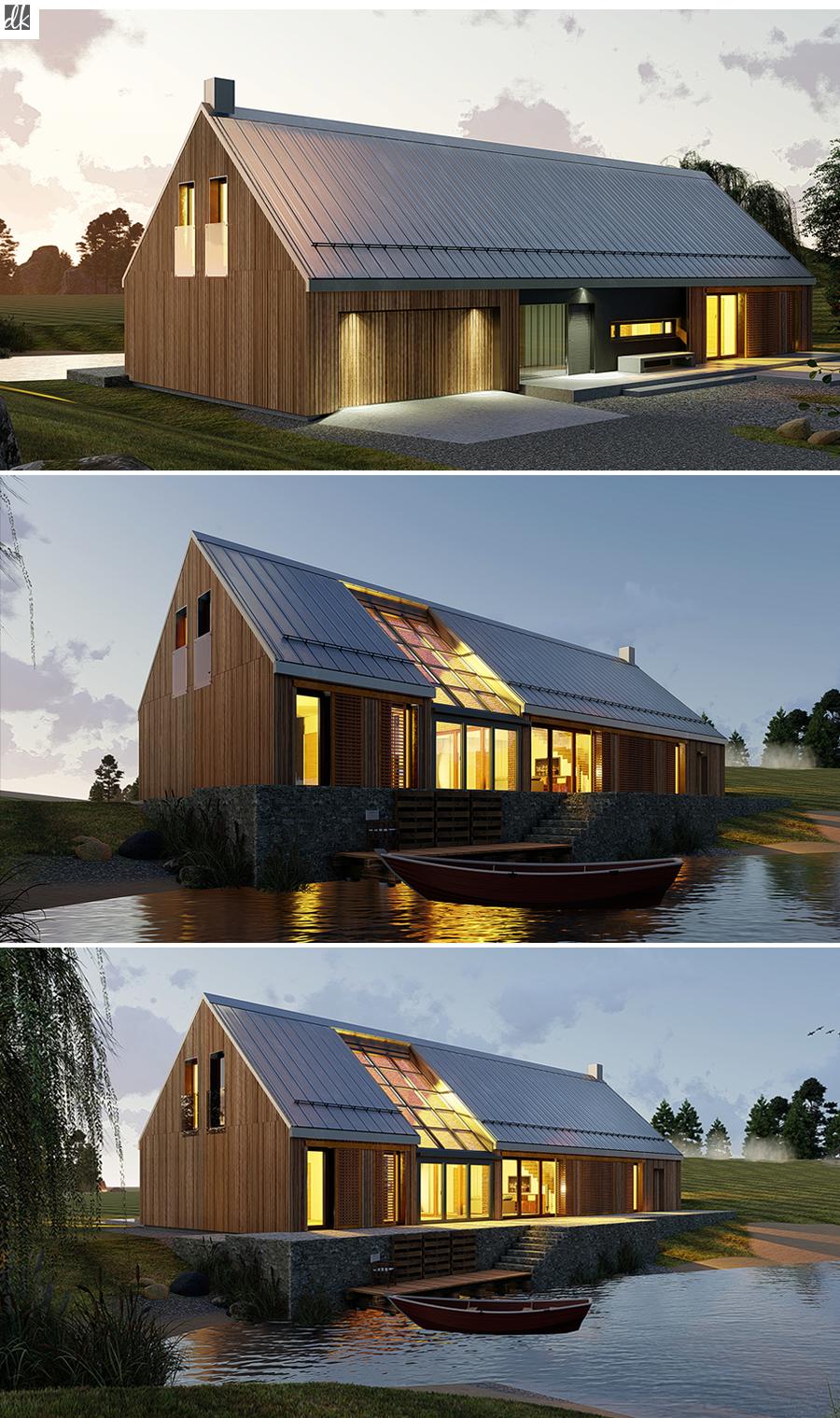 Tundra 2 Domowe Klimaty Modern Barn House Barn Style House House Designs Exterior