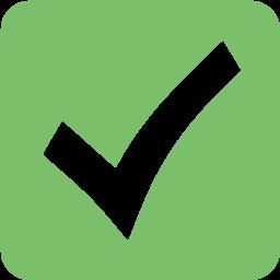Moth Green Check Mark 8 Icon Free Moth Green Check Mark Icons Icon Marks Tire Icon