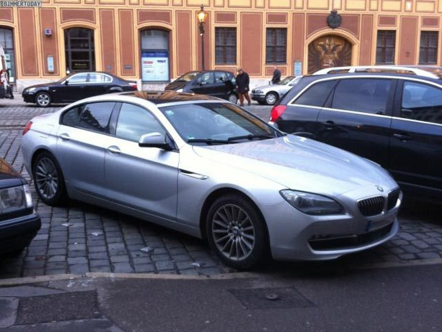 NEW photos of BMW 6-Series can coupe
