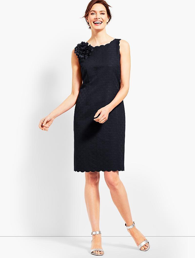 Jacquard Sheath Dress Talbots Womens Occasion Dresses Dresses Classic Cocktail Dress [ 1057 x 800 Pixel ]