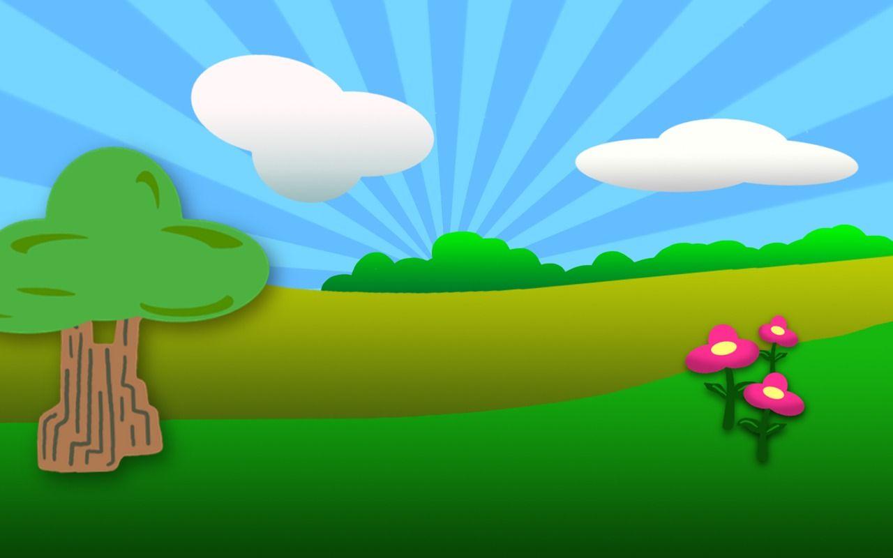 Park Cartoon Outdoors Drawing Green Happy Park Cartoon Outdoors Drawing Green Happy