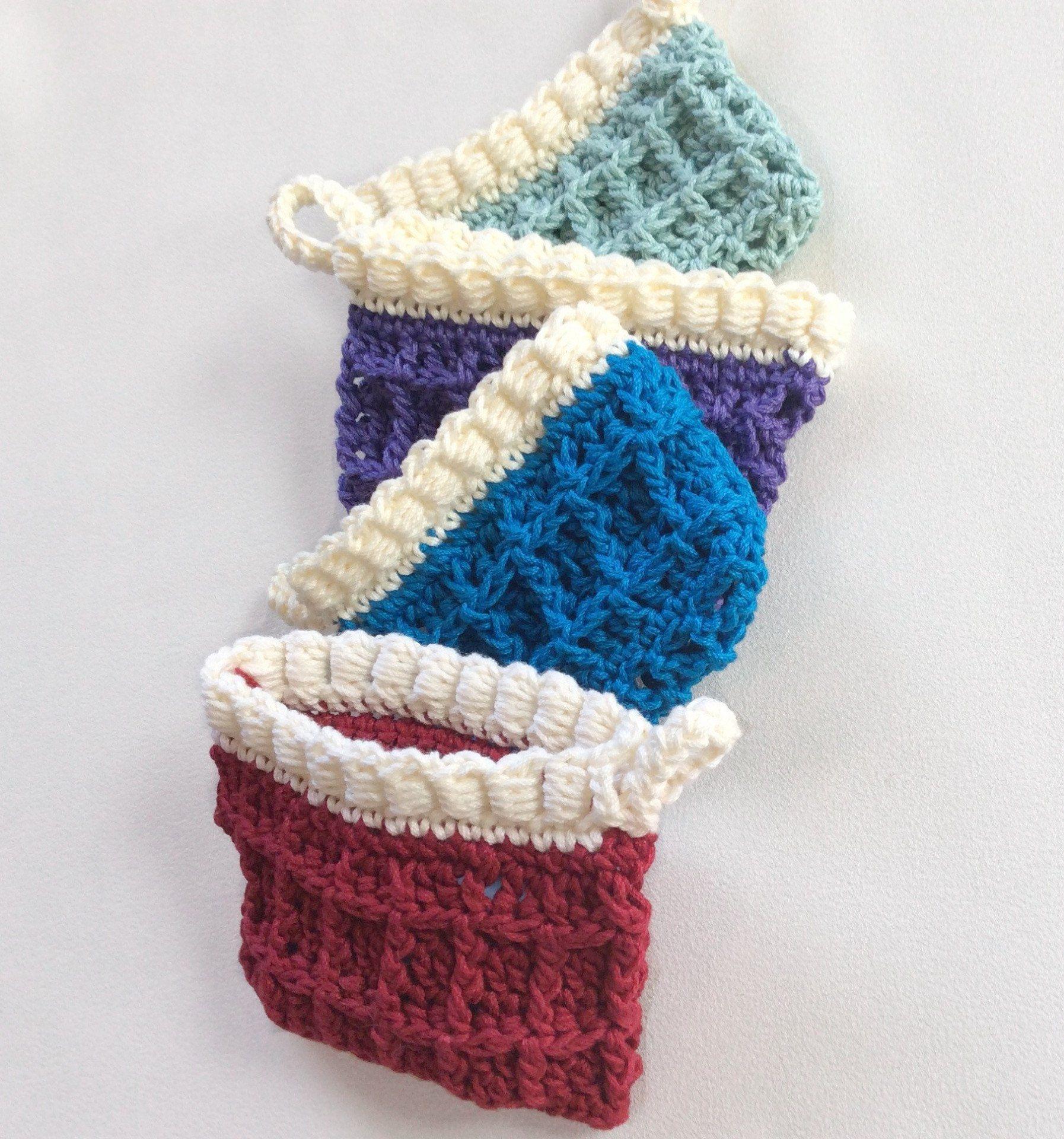 Contemporáneo Patrón Subordinados Crochet Motivo - Manta de Tejer ...