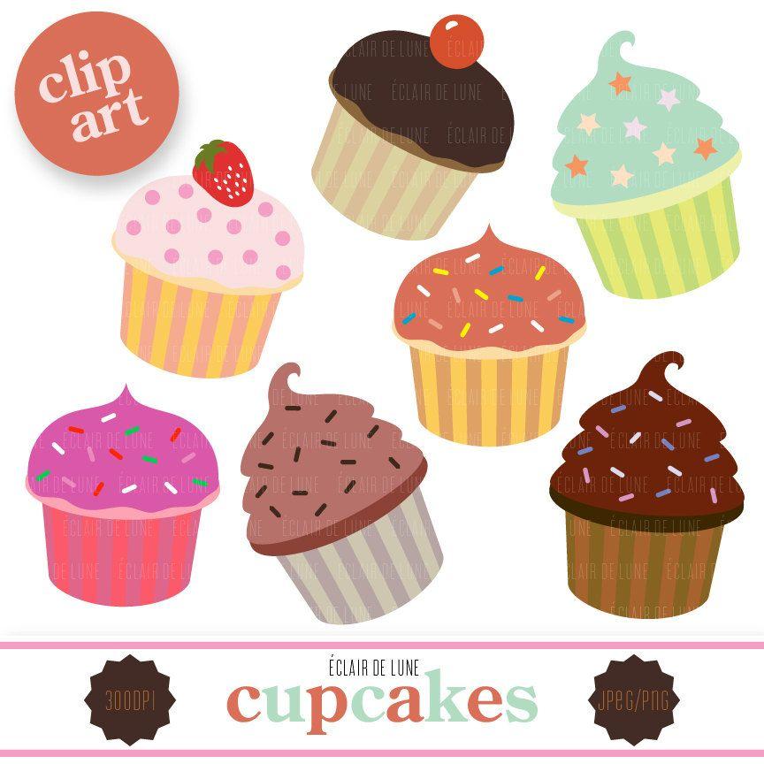 Free Printable Cupcake 2