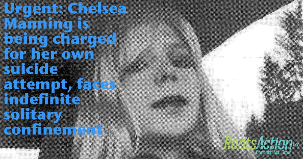 She faces indefinite solitary confinement! Please help! Add your name!