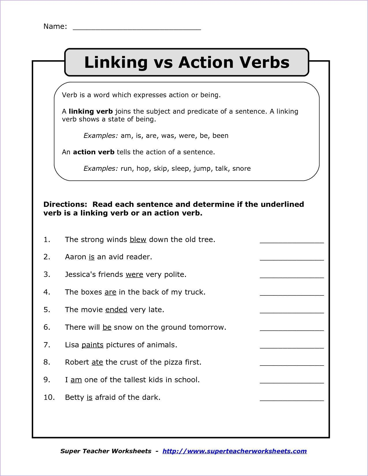Formalmemorable 5th Grade English Worksheets