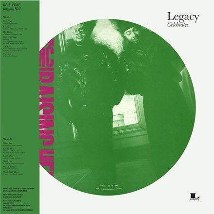 Run DMC - Raising Hell 180g Picture Vinyl LP December 2 2016 Pre-order