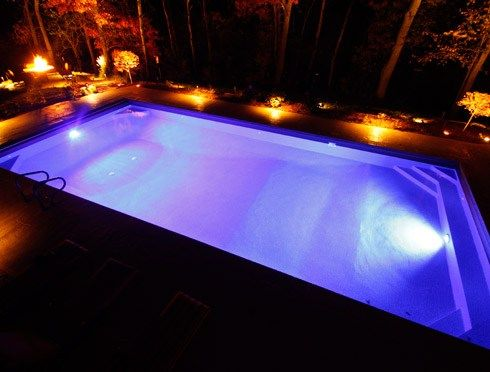 pool lighting techniques | Outdoor Living in 2019 | Swimming pool ...