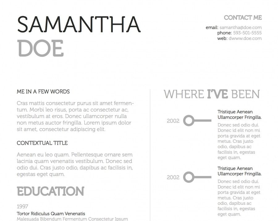 17 Best Images About Resume Ideas On Pinterest   Business Resume