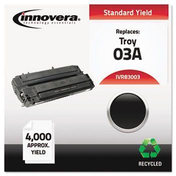 Remanufactured C3903a (03a) Laser Toner, 4000 Yield, Black