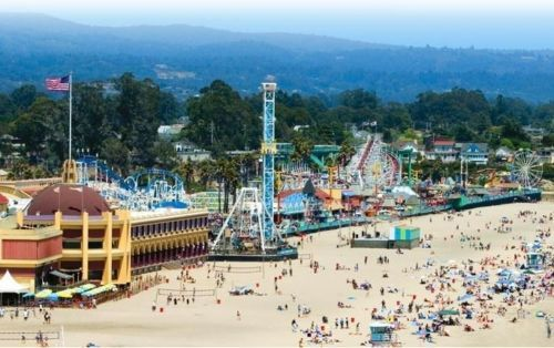 Santa Cruz Beach Boardwalk California Sand Sample Ebay
