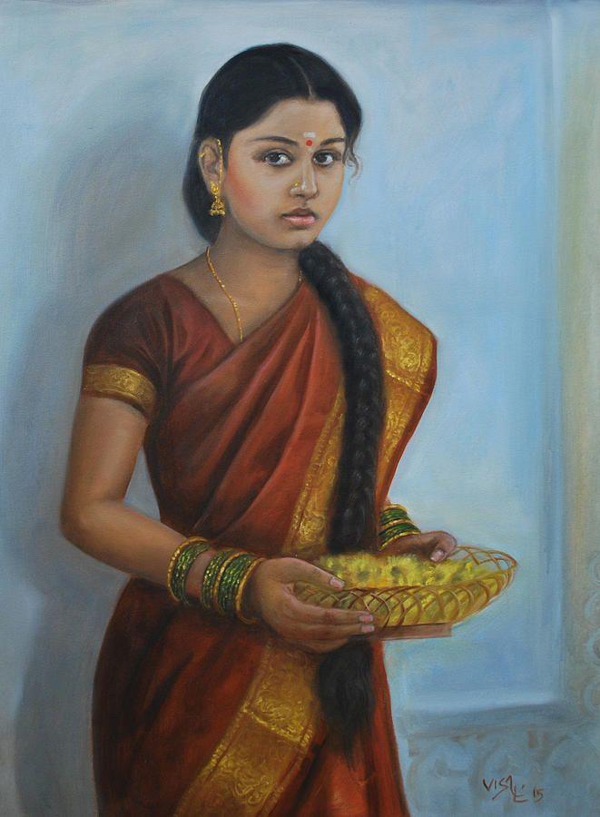 Vishalandra Dakur - Pesquisa Google  Indian  Painting -4631