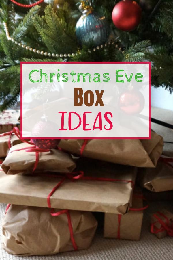 Ideas For A Christmas Eve Box Christmas eve box