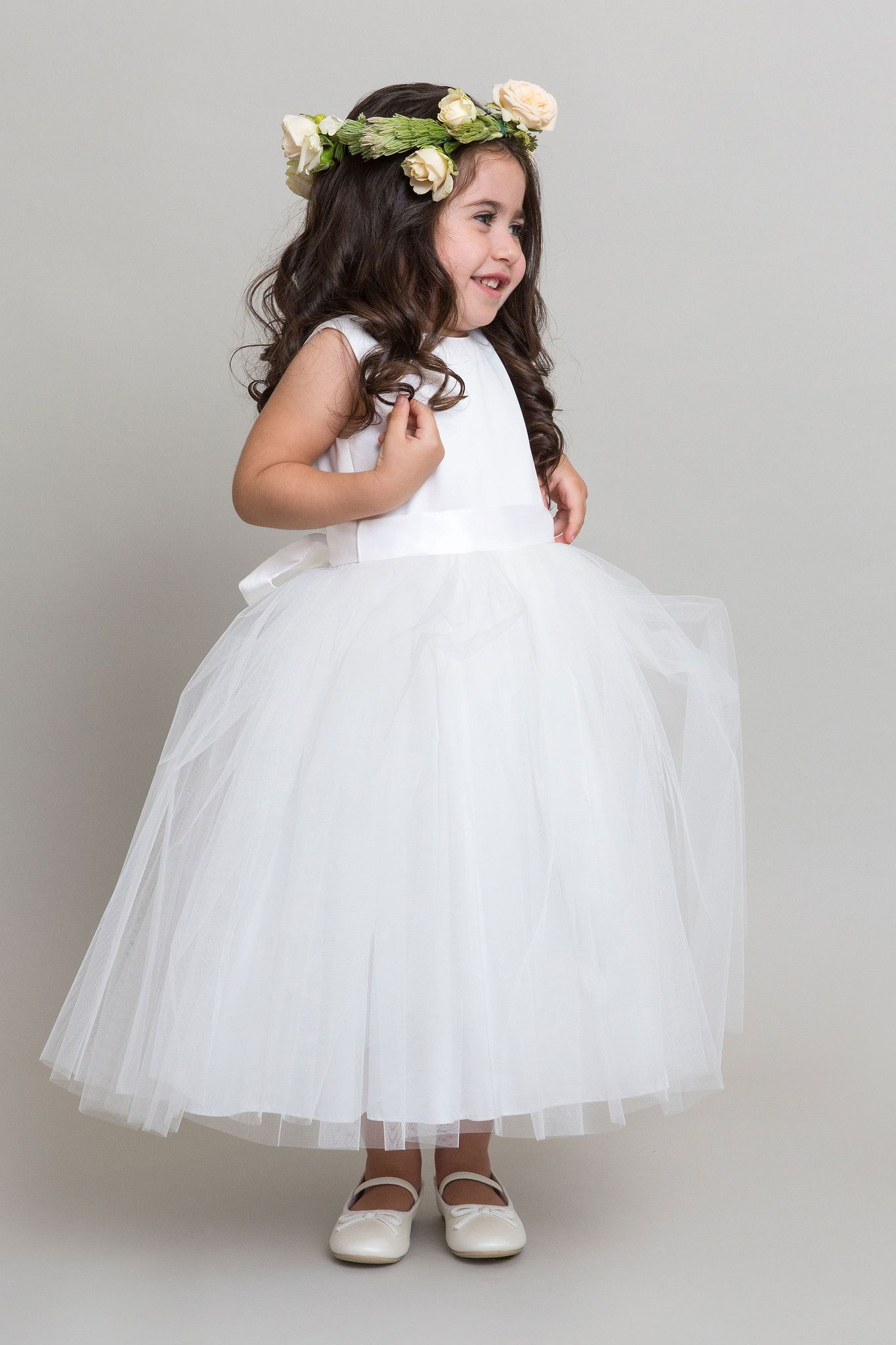 'Wish Upon A Princess' dress styled with a coloured sash