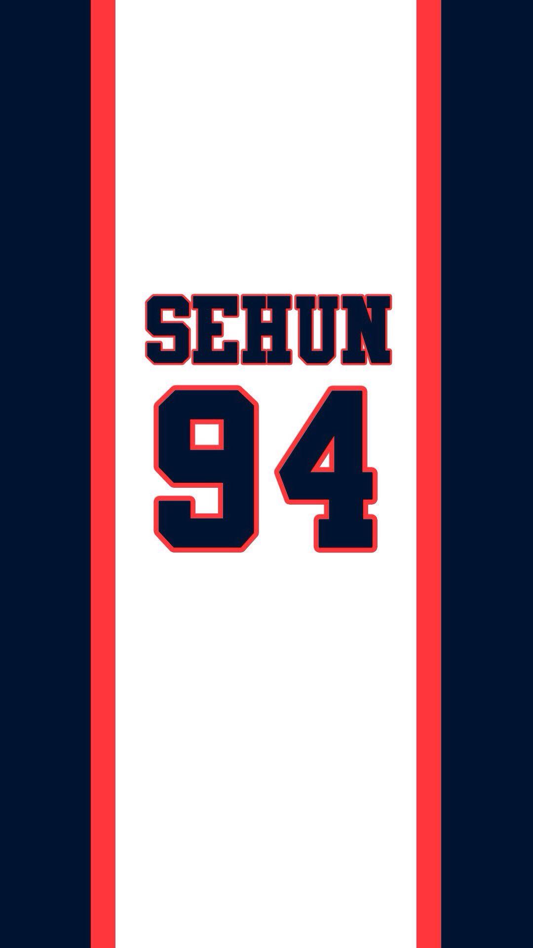 Exo sehun number potenial background exo exo - Number wallpaper ...