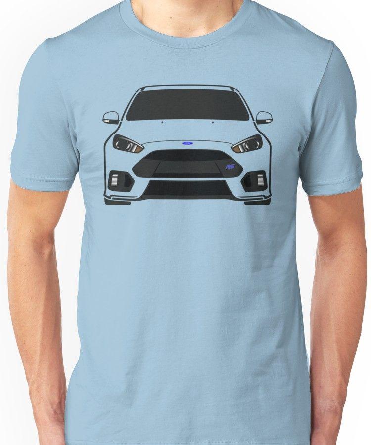 Ford Focus Rs Slim Fit T Shirt Camisas Polera Autos