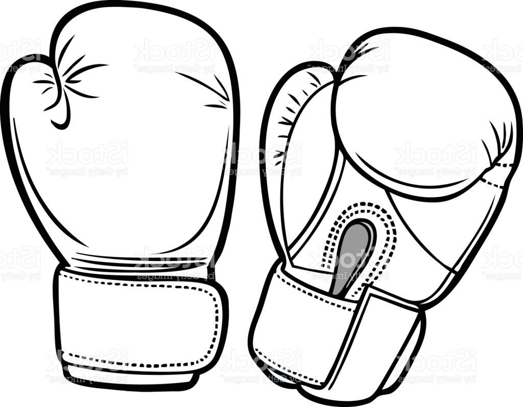 Boxing Gloves Coloring Pages   Coloring Page in 2019   Coloring ...