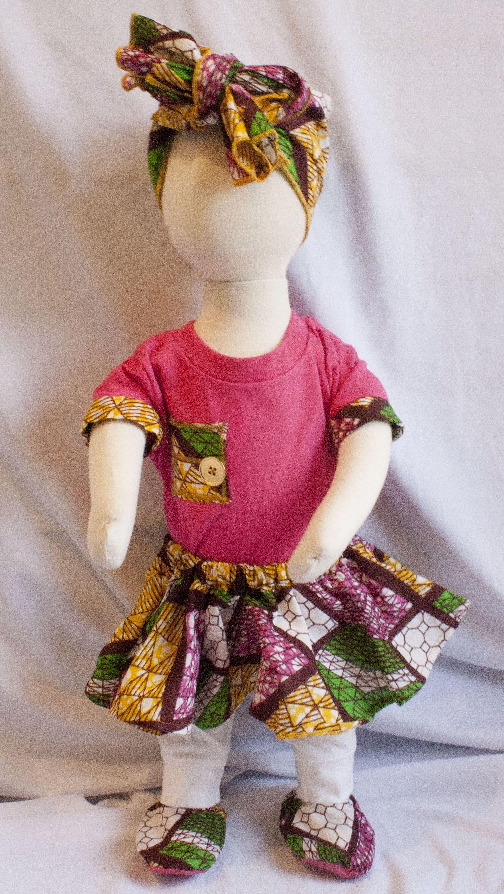 Made by J*Diza Clothing Company Ankara Style African