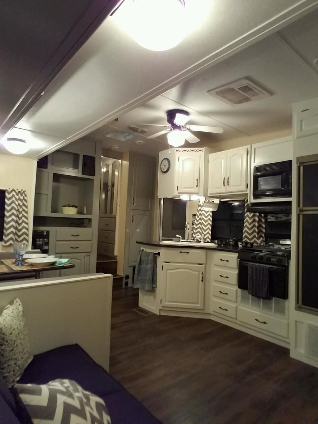 Motorhome Kitchen Wall Units