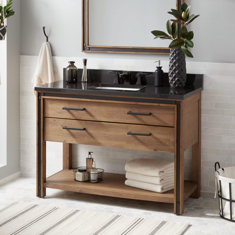 20+ Acacia bathroom cabinet custom